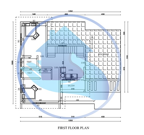 2300 Square Feet Double Floor Contemporary Home Design