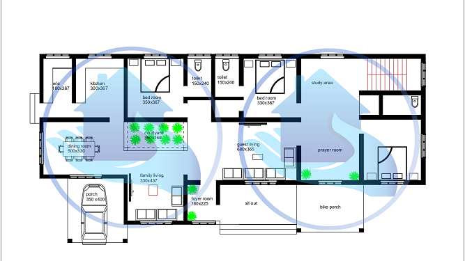 1480 Square Feet Double Floor Renovated Home Design