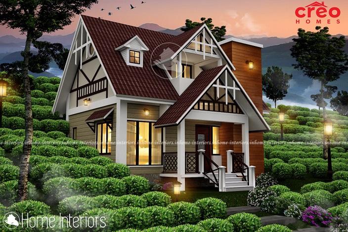 852 Square Feet Double Floor Contemporary Home Design