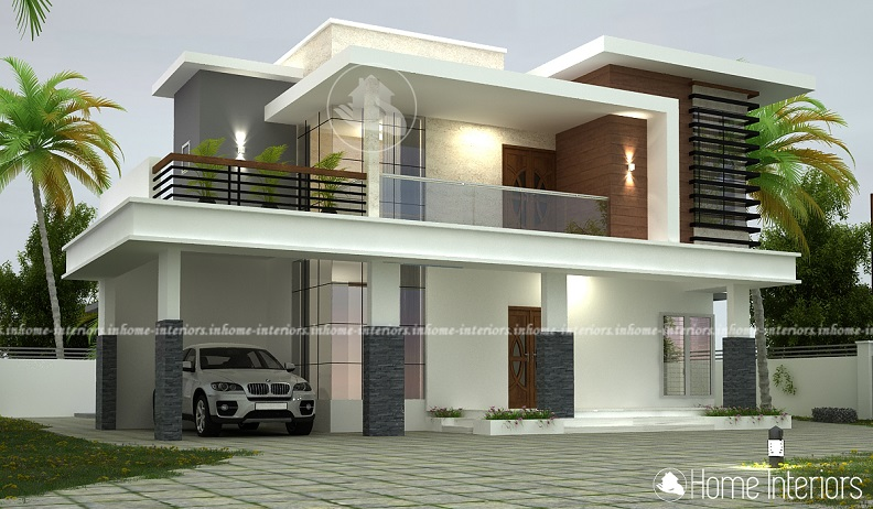 2365 Square Feet Double Floor Contemporary Home Design