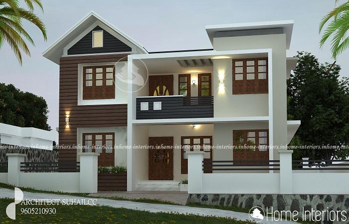 1550 Square Feet Double Floor Renovation Home Design