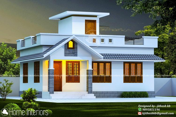 630 Square Feet Single Floor Contemporary Home Design