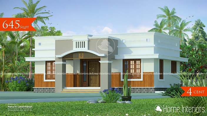 645 Square Feet Single Floor Contemporary Home Design
