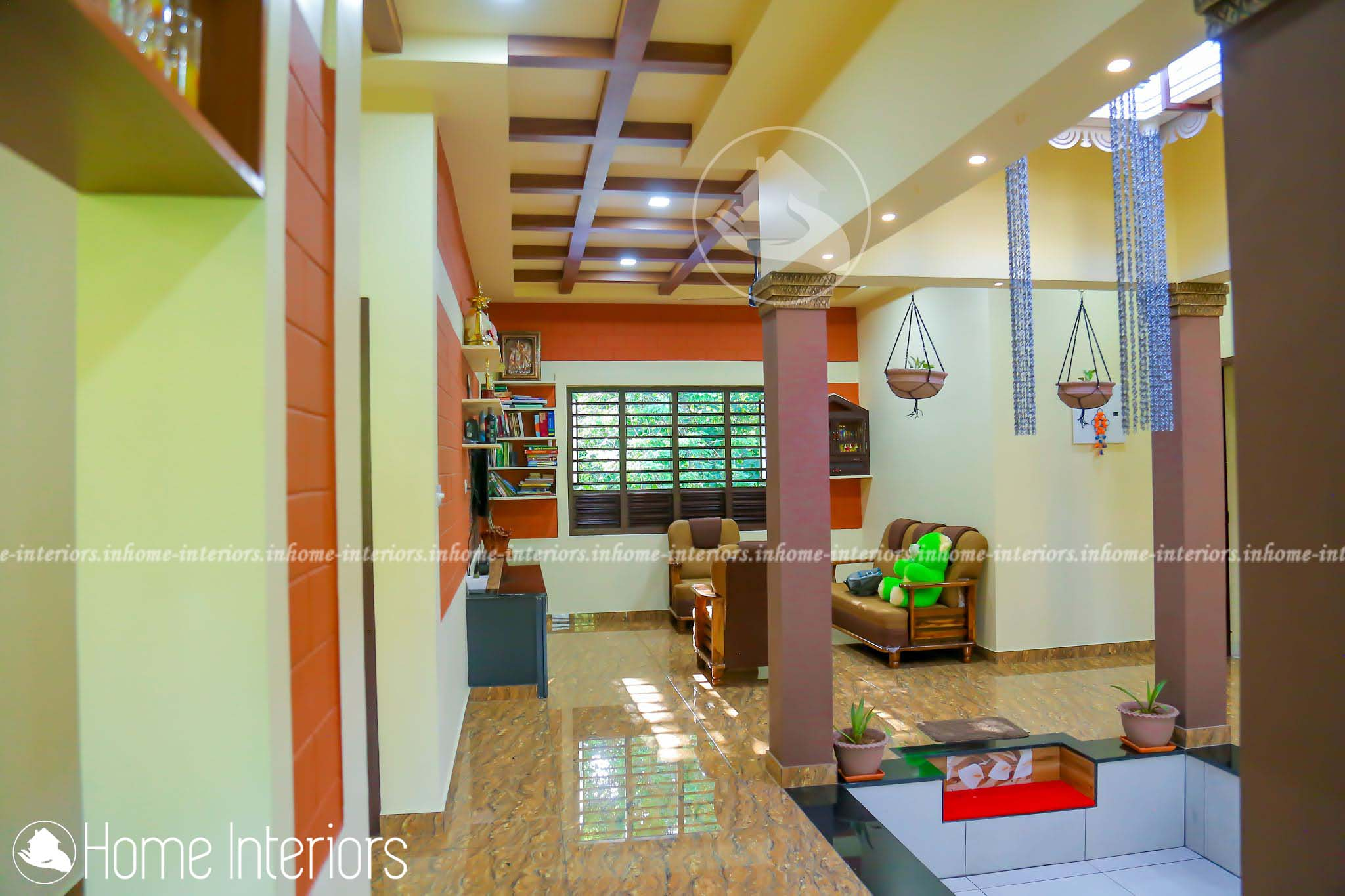1673 Square Feet Single Floor Naalukettu Home Design