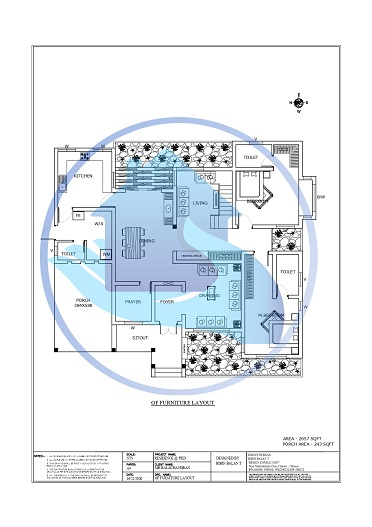 2953 Square Feet Double Floor Contemporary Home Design