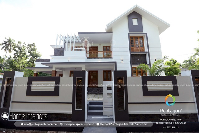 2790 Square Feet Double Floor Contemporary Home Design
