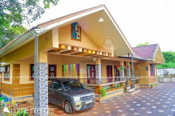 1500 Square Feet Single Floor Traditional Home Design