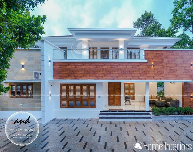 3686 Square Feet Double Floor Renovated Home Design