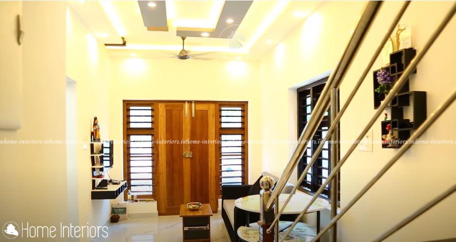 1100 Square Feet Double Floor Contemporary Home Design