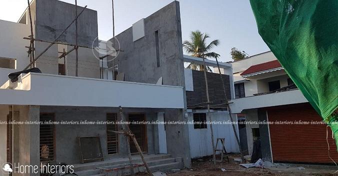 2700 Square Feet Double Floor Contemporary Home Design