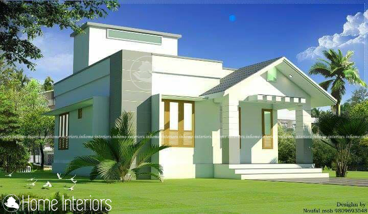 800 Sq Ft Single Floor Contemporary Low Cost Home Design