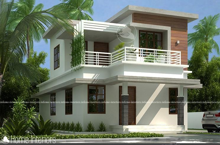 1200 Square Feet Double Floor Classic Home Design